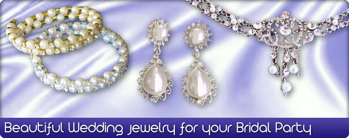 Wedding Jewelry for your Bridal Party