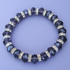 PURPLE CRYSTAL BRACELET* - ONLY ONE AVAILABLE
