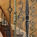Iron Balusters and Unfinished Iron Balusters
