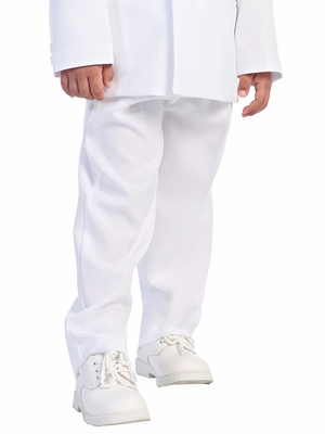 Boys White Pants