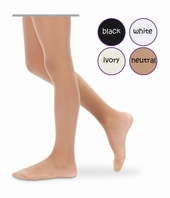 Jr. Miss Pantyhose Sheer to Waist by Jefferies Socks