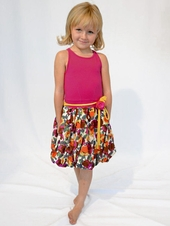 Eliane et Lena Nice Fuchsia / Multi Sleeveless Dress
