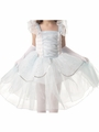 Posh Sparkling Cinderella Dress w/ Long Satin Gloves
