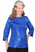Community Chorus & Orchestra Stretch Sequin Tunic