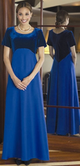 Velvet Oratorio Modest Choir Dress