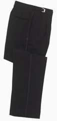 Adjustable Pleated Tuxedo Pant