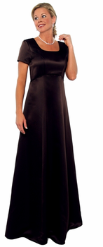 Scoop Neck (Chorale) Modest Bridesmaids Dresses