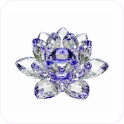 New-Style Blue Crystal Lotus (S)