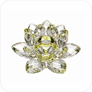 New-Style Yellow Crystal Lotus (S)