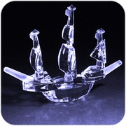Crystal Pirate Ship