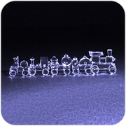 Crystal Train Set (5 pcs)