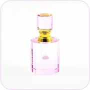 Crystal Perfume Bottle (Pink)