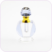 Crystal Perfume Bottle (Purple)
