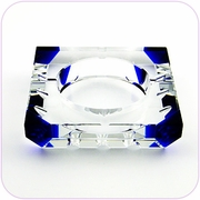 Crytal Ashtray (Blue)