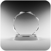 Crystal Awards (Round) (M)