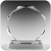 Crystal Awards (Round) (L)