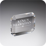 Crystal Rectangular Paperweight