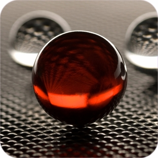 "Red Crystal Ball (3"", 80mm ) $46.75"