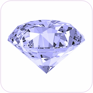 "Clear Crystal Diamond (2"") $19.96"