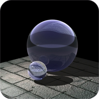 Purple (Lavender) Crystal Ball