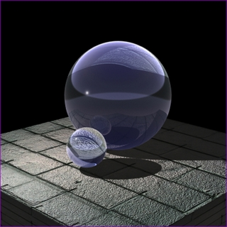 "Purple Crystal Ball (L: 4.2"",110mm) $49.96"