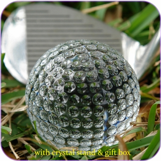 Crystal Golfball (S)