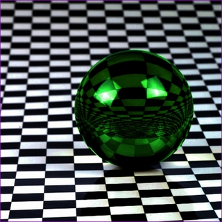 "Green Crystal Ball (L: 4.2""110mm) $49.96"