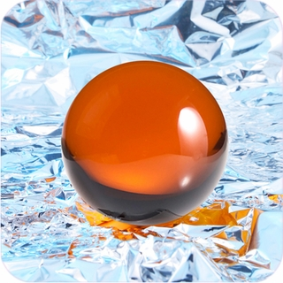 "Amber CrystalBall (4"",110mm) $54.96"