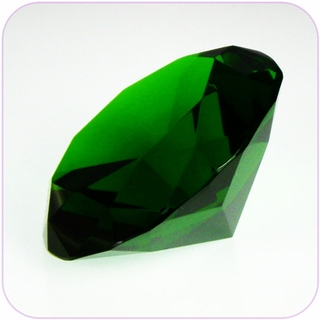 "Green Crystal Diamond (4"") $19.96"