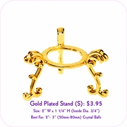 Gold Plated Stand (S)
