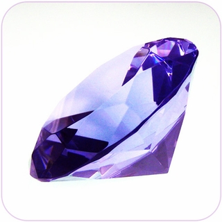 "Purple Crystal Diamond (4"") $19.96"