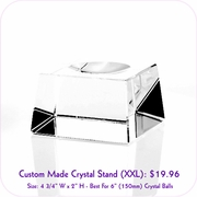 Clear Crystal Stand (XXL)