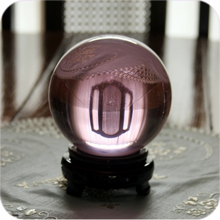 "Pink Crystal Ball (8"",200mm)$289.96"