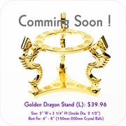 Golden Dragon Stand (L)
