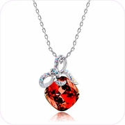 Gift of Glamour Crystal Pendant Necklace #24153