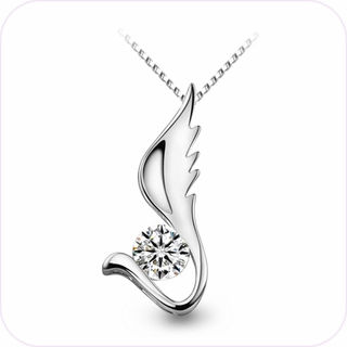 Angel Wing Pendant Necklace #24094