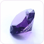 Purple Crystal Diamond