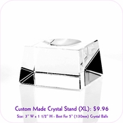 Clear Crystal Stand (XL)