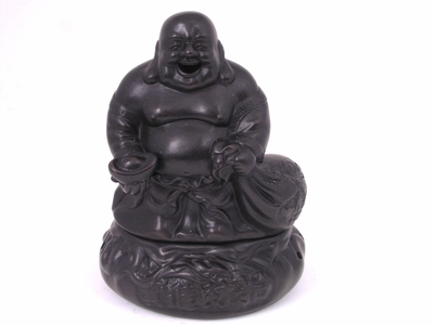 Laughing Buddha Clay Incense Diffuser