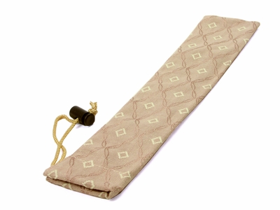 Dark Cream Chopstick Bag