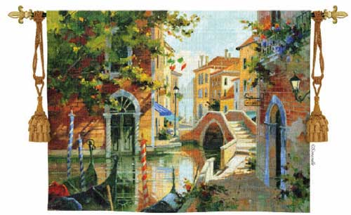Tapestry Wall Hanging of Vencie, Italy