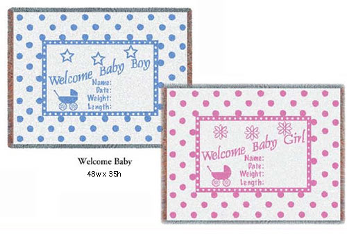 Welcome Baby Personalized Baby Gifts