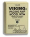 Viking M2W Paging Power Amplifier (M2W)