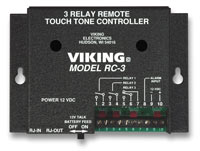 Viking RC-3 3-Relay Remote Touch Tone Controller (RC-3)