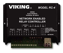Viking RC-4 Network Enabled Relay Controller (RC-4)