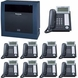 Panasonic KX-TDE200 IP PBX Package (KX-TDE200IP9)