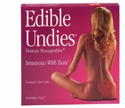 Ladies Edible Undies - Heart Shaped