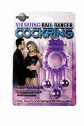 Vibrating Ball Banger Cockring