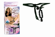 Vibrating Lovers Thong With Stroker Beads