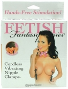 Fetish Fantasy Series Cordless Vibrating Nipple Clamps